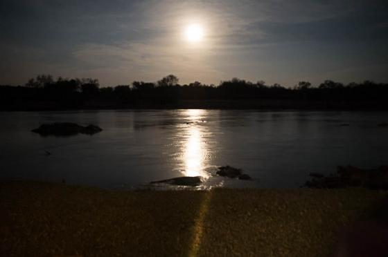 Moonlight over Olifants River by Eileen Fletcher