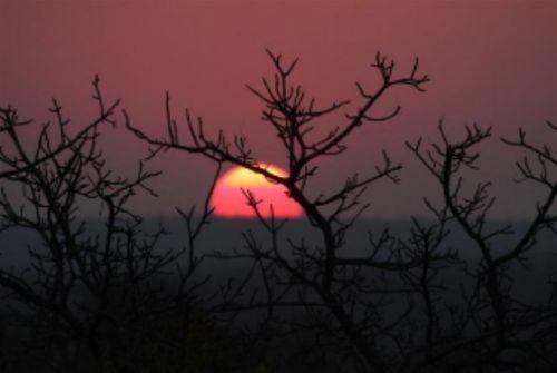 Olifants sunset by Angela Bader