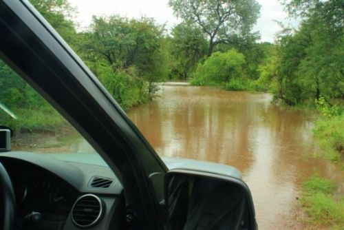 River crossing Grietjie by Danny Shaw