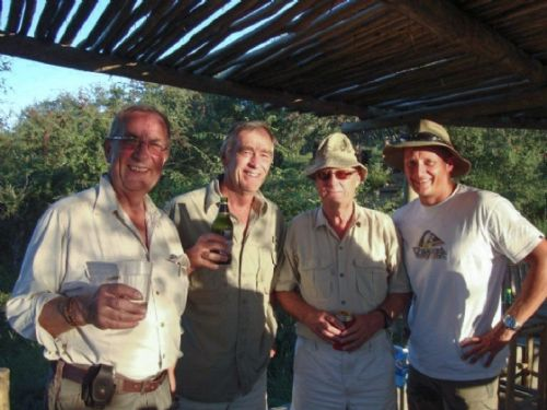 The famous Lion Club _ Roy, Richard, Graham and Kenny